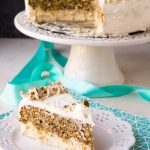 Low Carb Carrot Cake Cheesecake (Keto, Nut Free, Gluten Free)