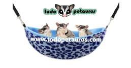 NIDO HAMACA - LEOPARDO ROSA