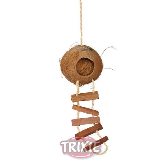 Casita de Coco Loco - Nido para Petauro del Azucar - Nidos y Casas para Petauros - Jaula de Petauro - Sugar Glider Pouch Nest