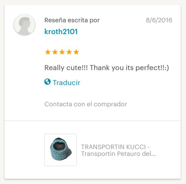 TRANSPORTIN KUCCI VERDE EXOTIC NUTRITION Trensportin Petauro Transporte Petauros del Azucar Bolsa Vinculacion Bonding Bag