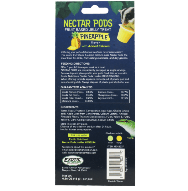 600 nectar pods tarrinas de nectar para petauros del azucar copa nectar petauro sugar glider nectar for sugar gliders