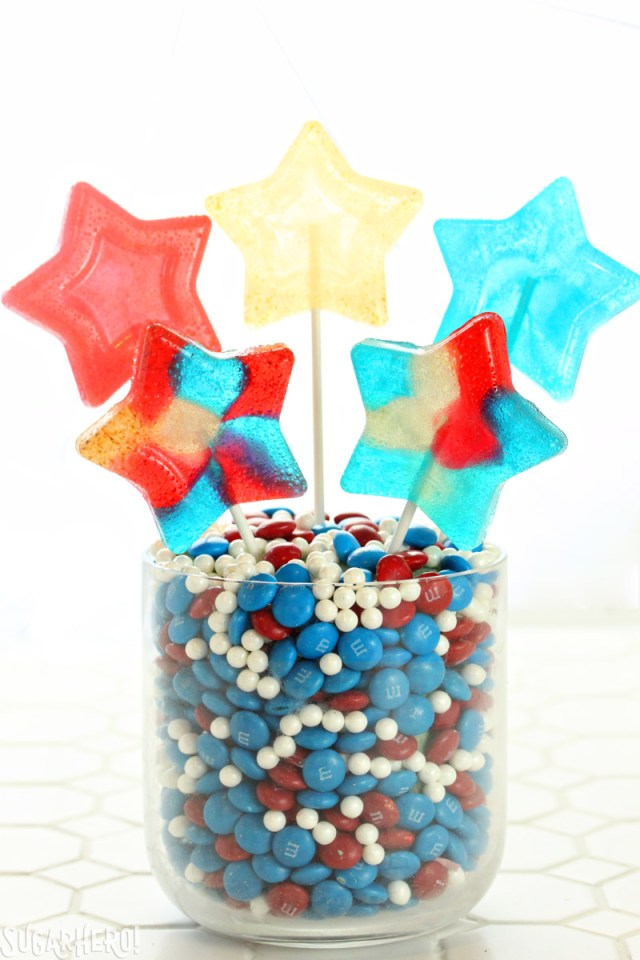Easy Homemade Lollipops