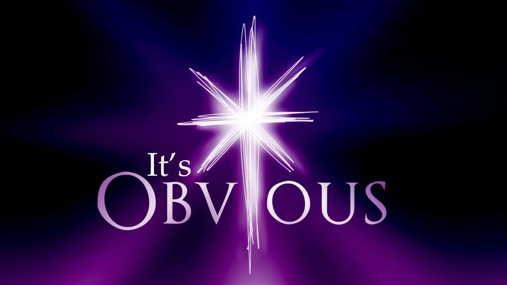 It's Obvious Week 1 Message Slides - Joseph.001