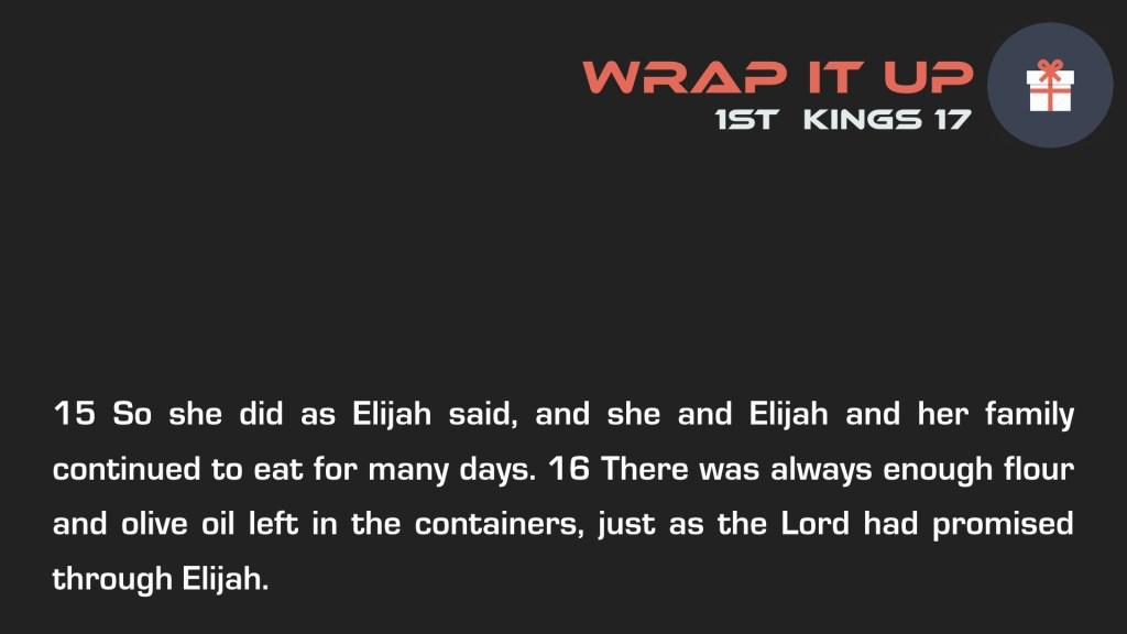 Wrap it Up Week 2.005
