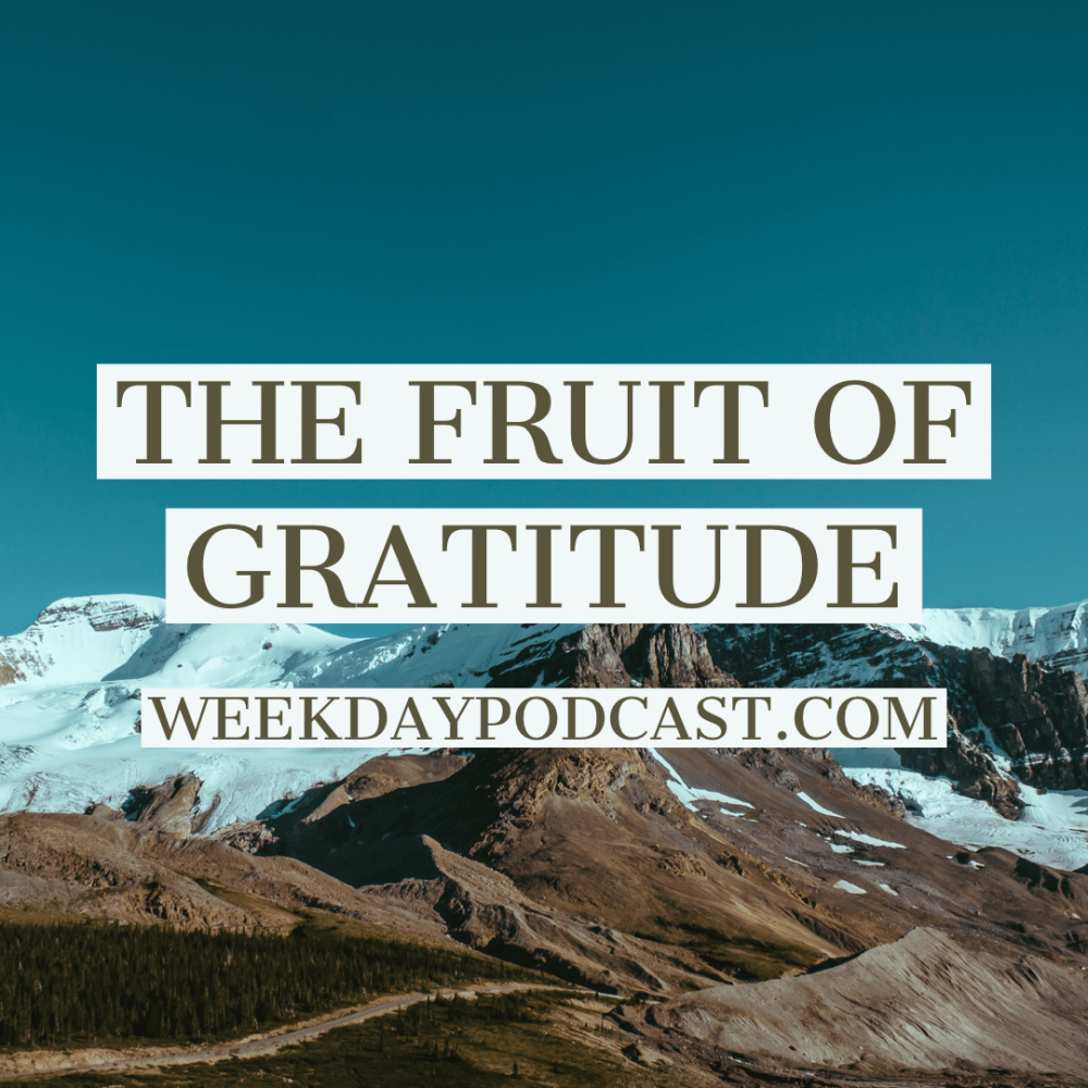 The Fruit of Gratitude Image