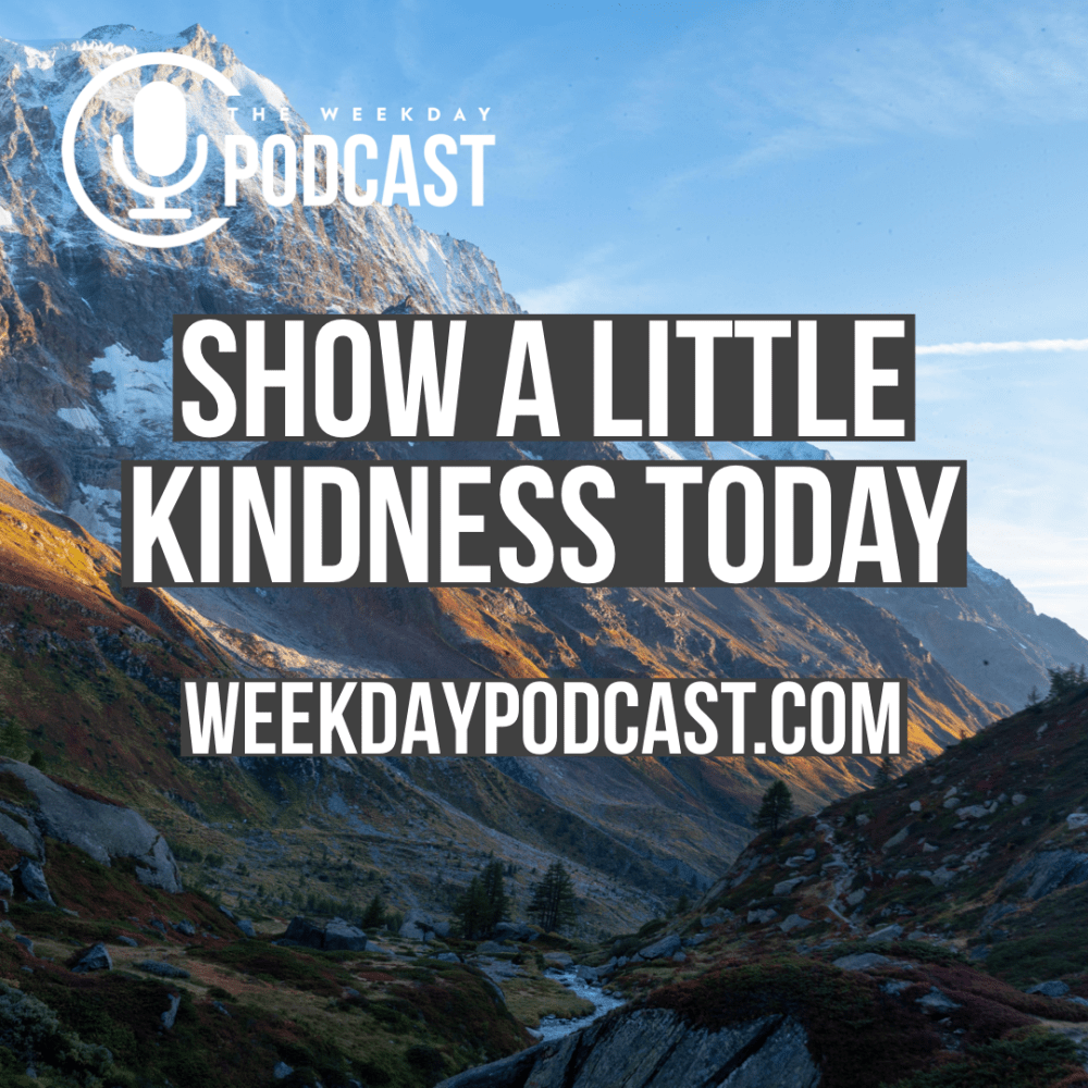 Show a Little Kindness Today Image