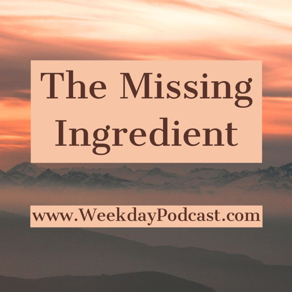 The Missing Ingredient Image