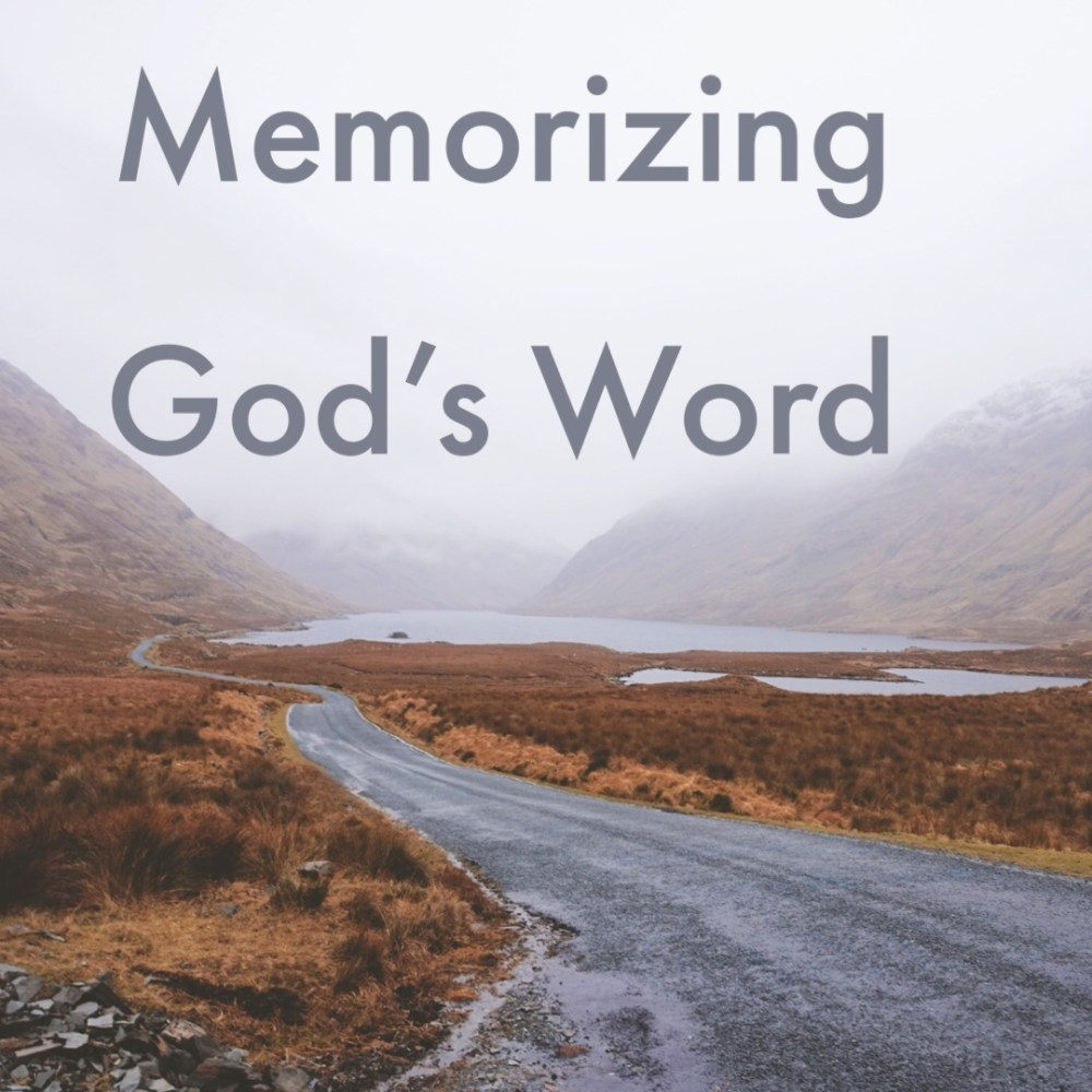 Memorizing God\'s Words Image