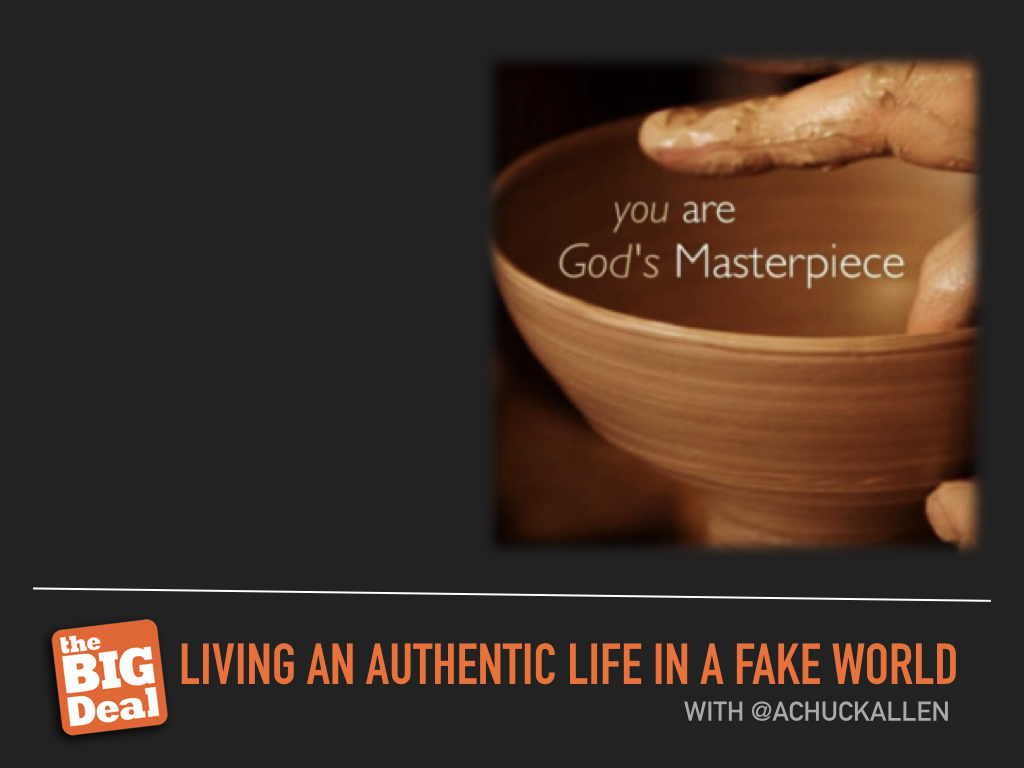 Living Authentic Life in a Fake World Image