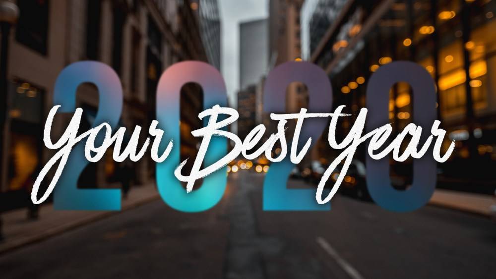 Your Best Year: Week 1