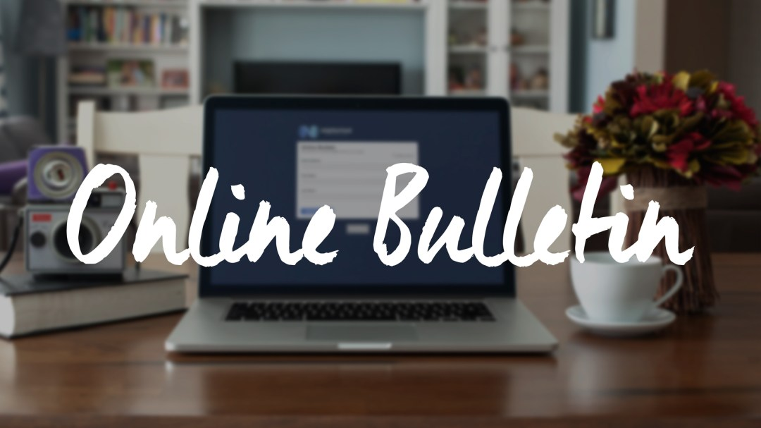 Online Bulletin [March 15, 2020]