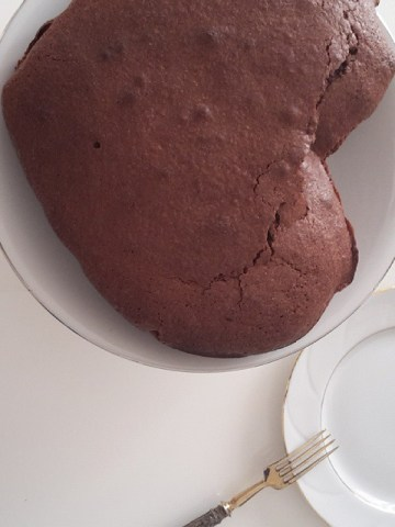 Flourless Chocolate Cake from the old days