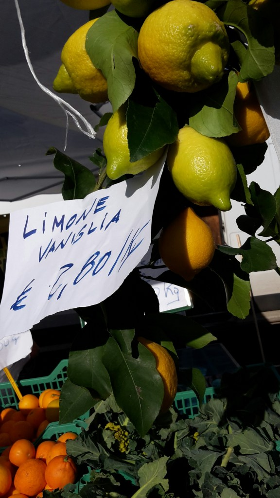 Vanilla lemons