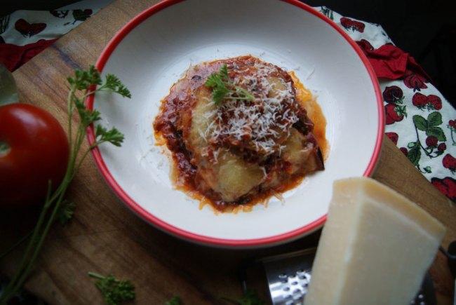 italian eggplant parmigiana