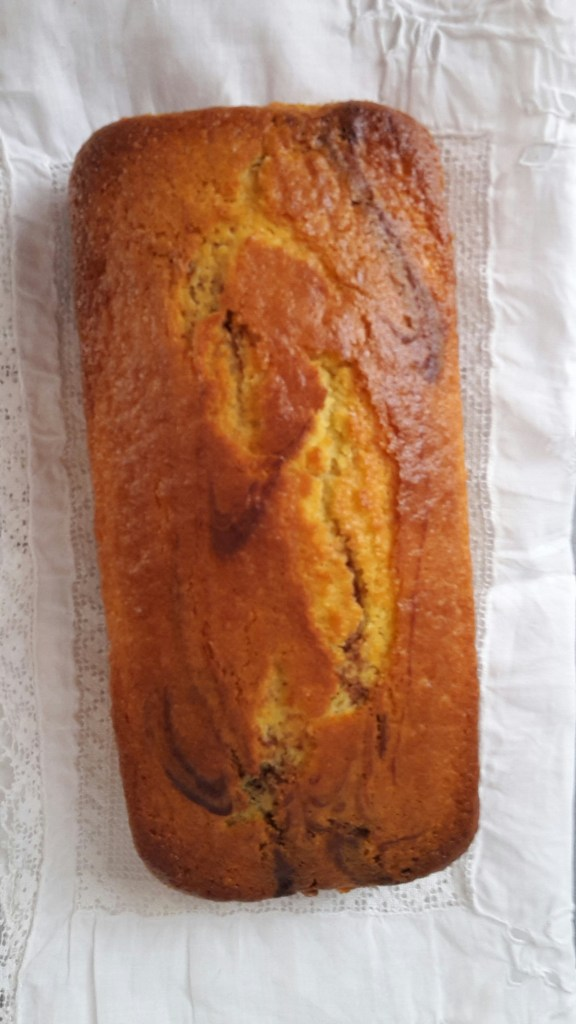 Cocoa Yogurt Marble Loaf