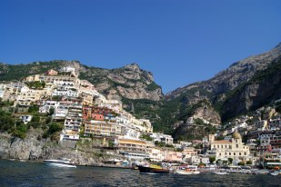 Positano, view from the boat