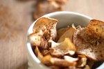 cinnamon brown sugar apple chips