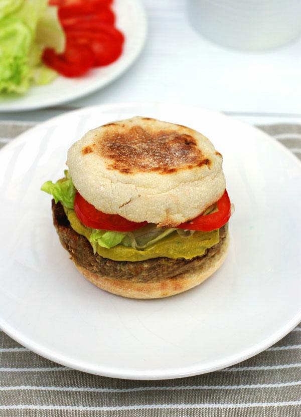 mushroom-veggie-burger