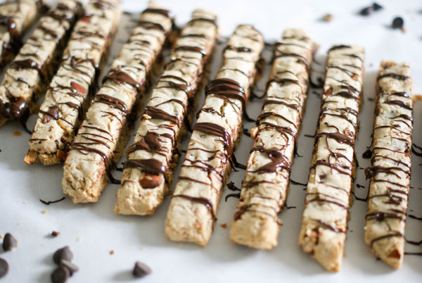 Nutty for espresso biscotti