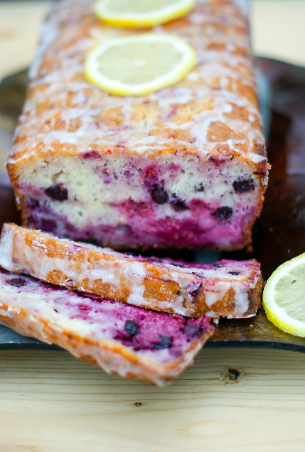 lemon-berry loaf