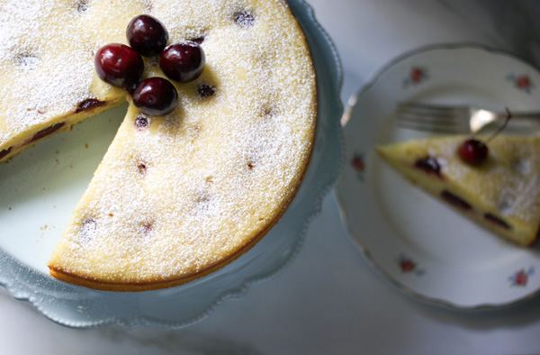 cherry-almond-and-olive-oil-cake