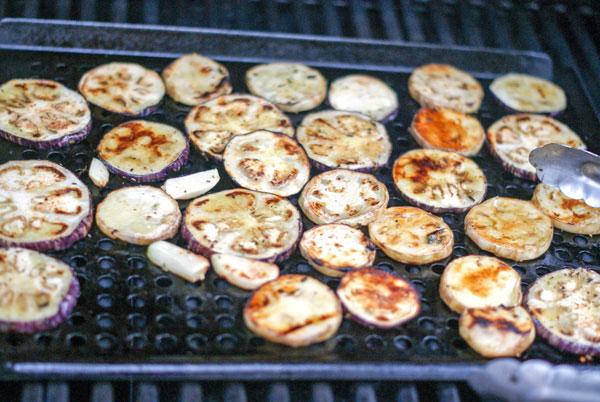 Grilled Eggplant Hummus