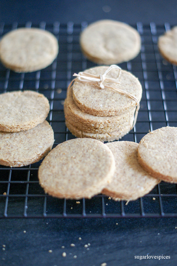 Chickpea, Coconut Cookies