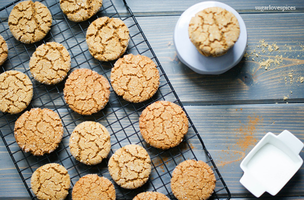 Gluten-free Ginger Molasses Cookies