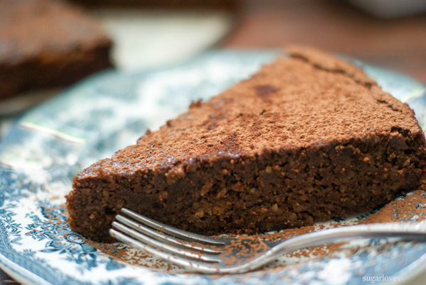 Flourless Chocolate Beet Cake