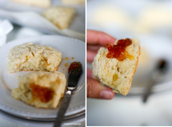 Molly's Scottish Scones with Lemon, Ginger and White Chocolate