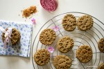Buckwheat cardamom cookies