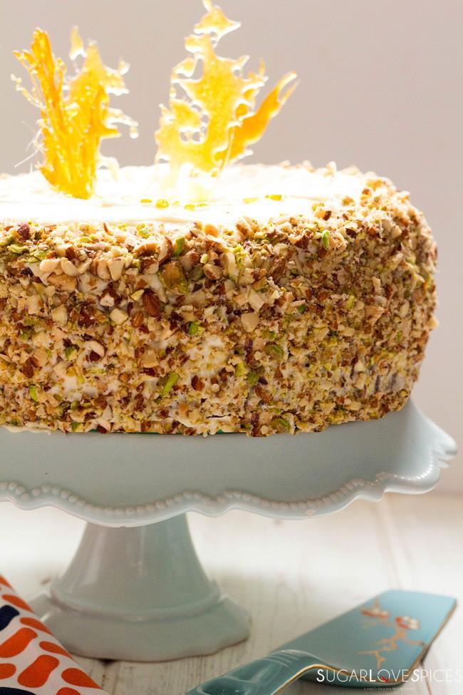 Aunt Jessie's Carrot Cake