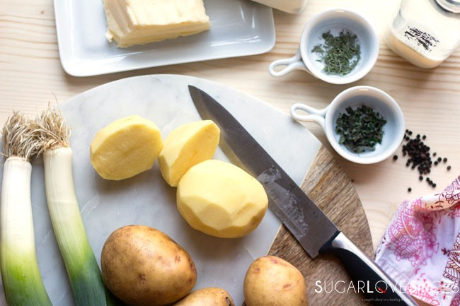 Rustic Potato Leek Mash