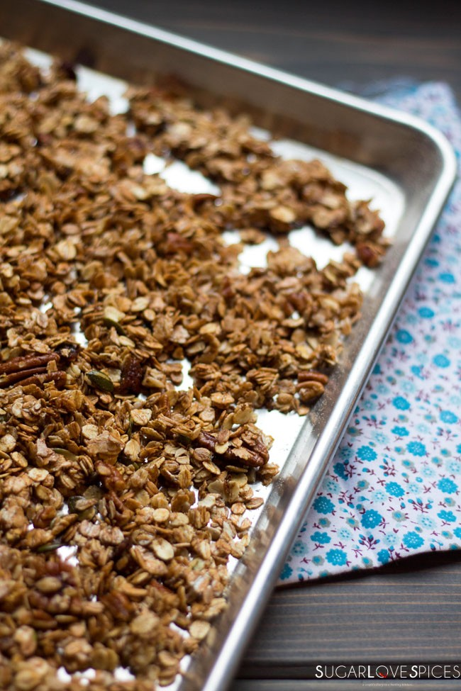 Toasted Coconut Crunchy Granola