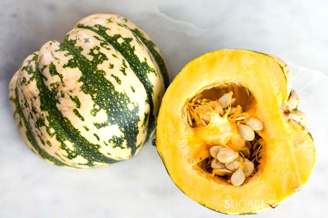 Red Curry Coconut Roasted Squash Soup