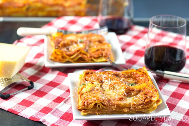 Mom's famous Lasagna