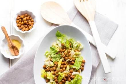 Chickpea Ceasar Salad