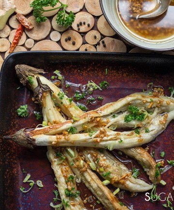 Eggplant Asian Salad