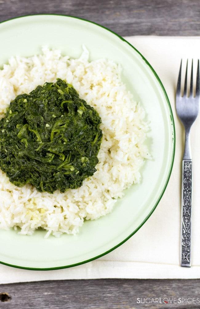 Ethiopian Spinach Stew