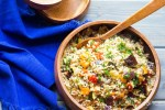 Grilled Vegetable Barley Medley
