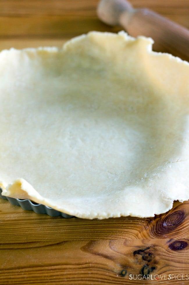 Basic savory tart pastry