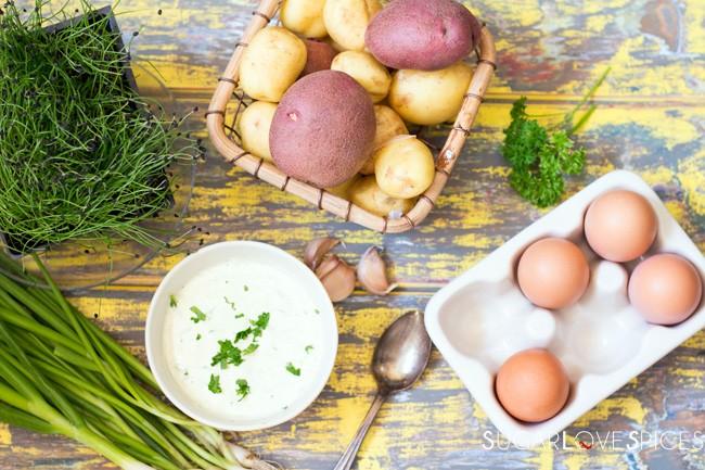 Rustic Country Potato Salad