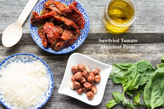Sun-dried Tomato Hazelnut Pesto