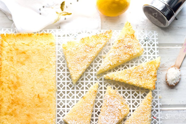 Meyer Lemon Ricotta Soft Cake