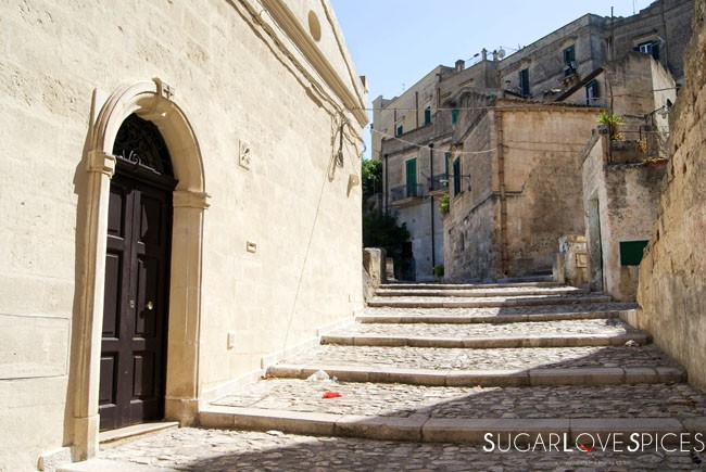 Fave e cicoria (and a beautiful day in Matera)