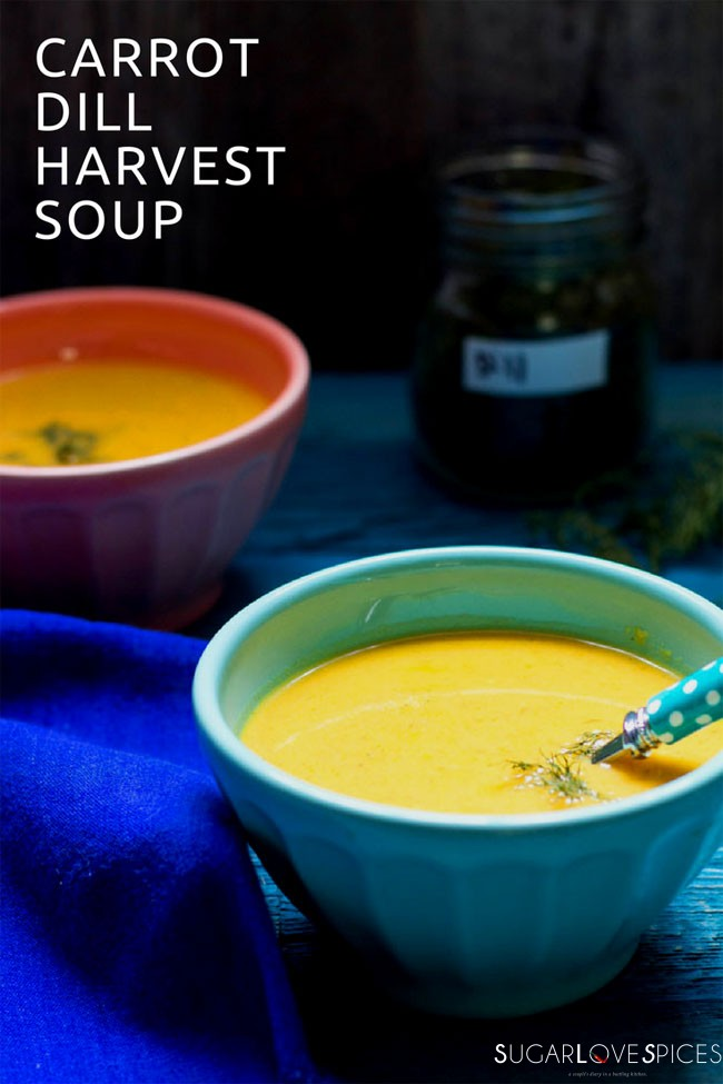 carrot dill harvest soup