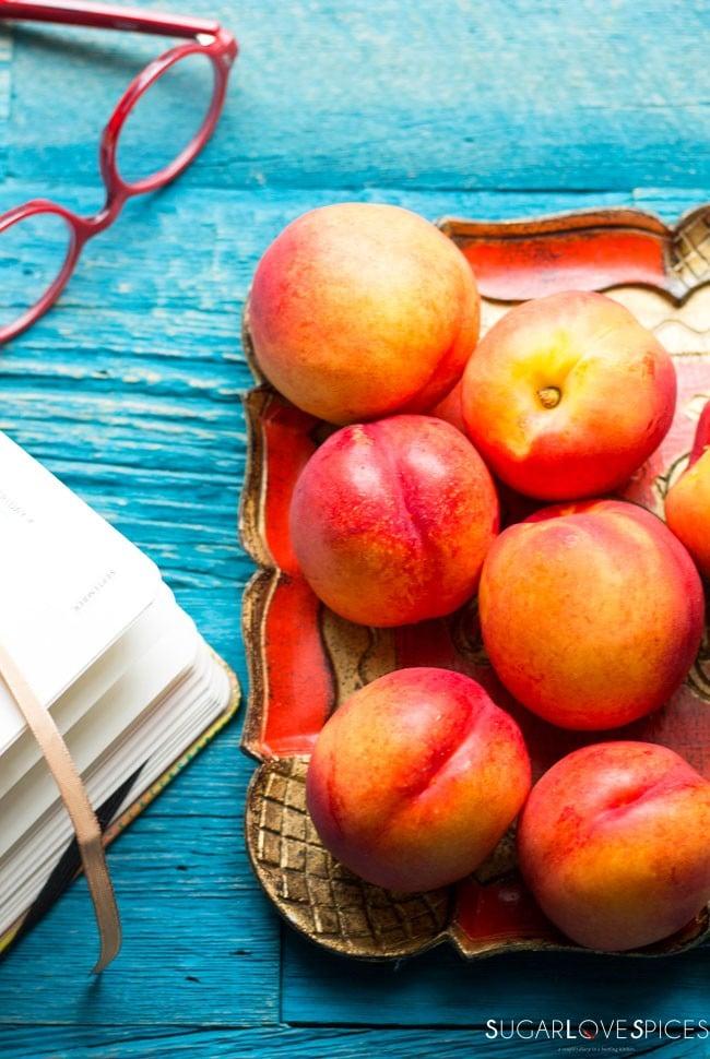 nectarine plum crisp