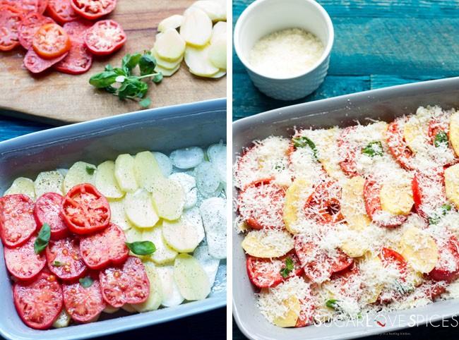 Potato and Tomato Baked (Patate e Pomodori al Forno)