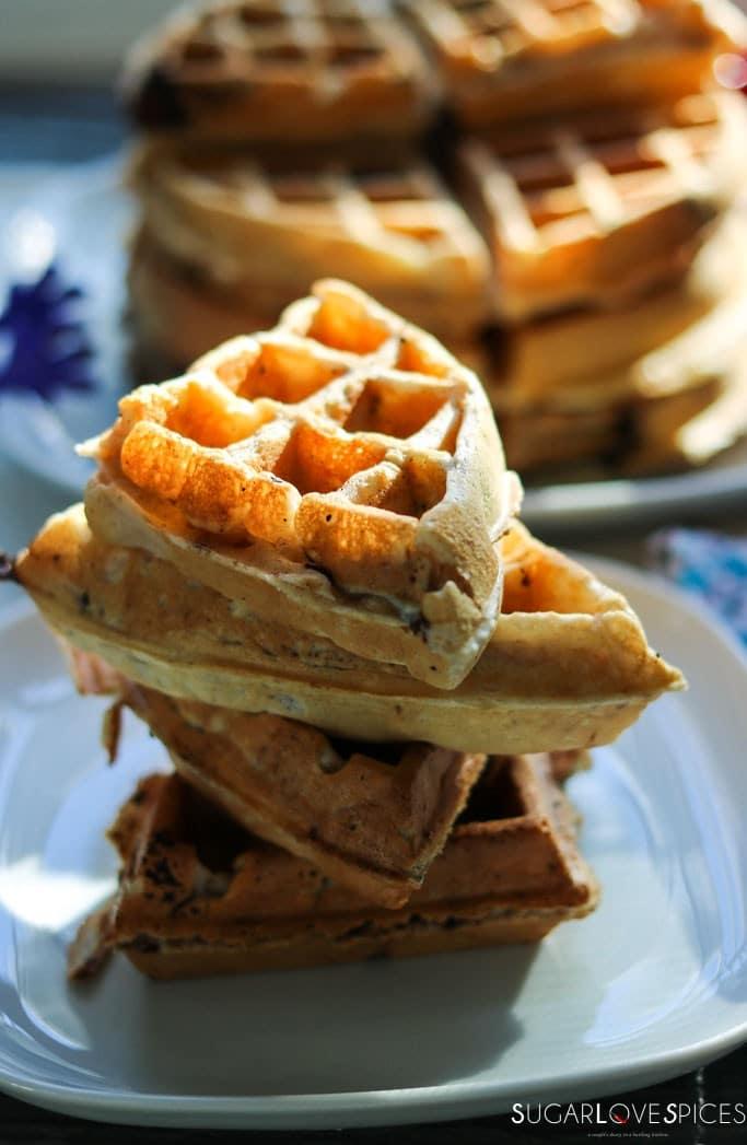 Cookies & Milk Belgian Waffles