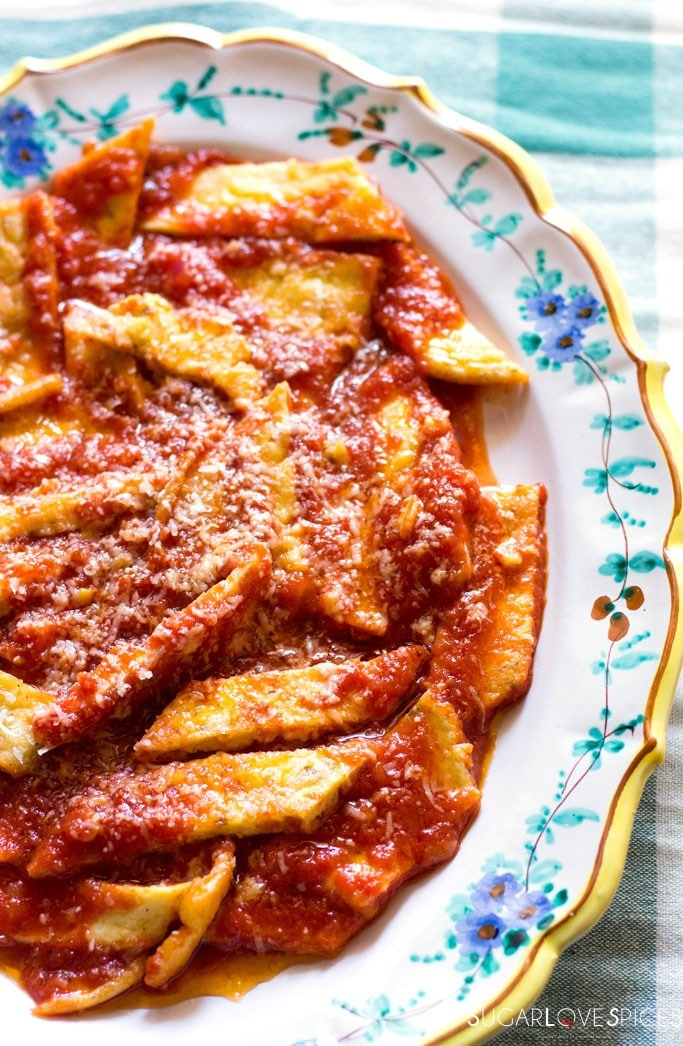 Fake Tripe in Tomato Sauce